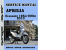 Thumbnail Aprilia Scarabeo 125ie-200ie 2010 Service Repair Manual