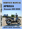 Thumbnail Aprilia Scarabeo 250 2005 Service Repair Manual