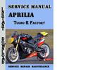 Thumbnail Aprilia Tuono R Factory Service Repair Manual