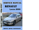 Thumbnail Renault Laguna 2000 Service Repair Manual
