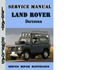 Thumbnail Land Rover Defender Service Repair Manual