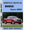 Dodge Dakota 2005 Service Repair Manual